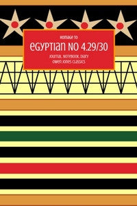 Egyptian No 4.29/30 Journal, Notebook, Diary by Owen Jones Classics (ProductiveLuddite.com)
