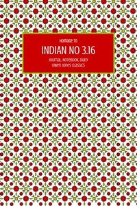 Indian No 3.16 Journal, Notebook, Diary by Owen Jones Classics (ProductiveLuddite.com)