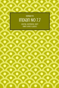 Indian No 7.7 Journal, Notebook, Diary by Owen Jones Classics (ProductiveLuddite.com)