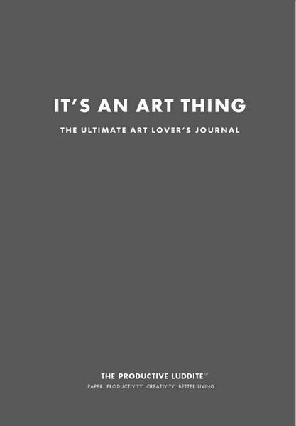 Sample Page from It's An Art Thing: The Ultimate Art Lover's Journal