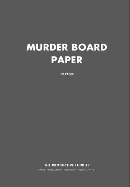 Sample Page from Murder Board Paper