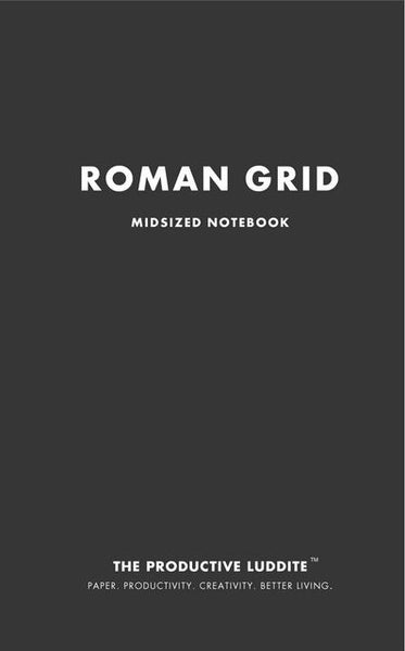 Sample Page from Roman Grid Midsized Notebook