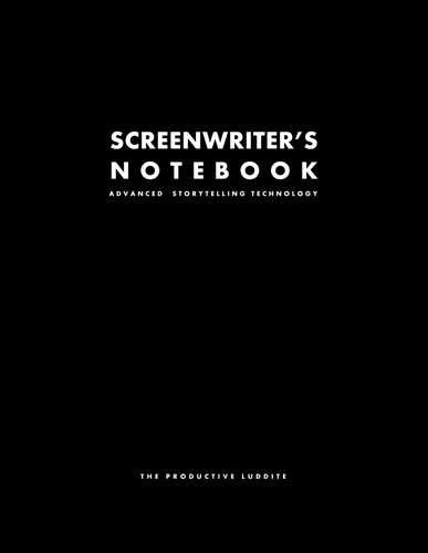 Screenwriter's Notebook by Productive Luddite Notebooks (ProductiveLuddite.com)