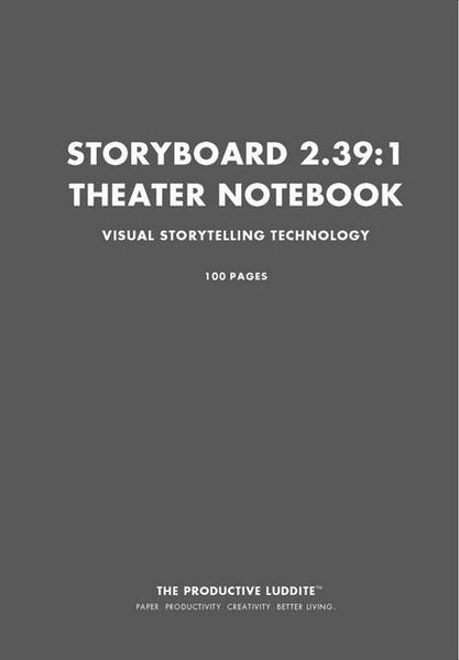 Sample Page from Storyboard 2.39:1 Theater Notebook