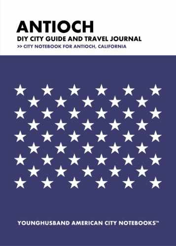 Antioch DIY City Guide and Travel Journal by Younghusband American City Notebooks (ProductiveLuddite.com)