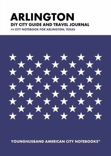 Arlington DIY City Guide and Travel Journal by Younghusband American City Notebooks (ProductiveLuddite.com)
