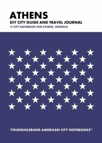 Athens DIY City Guide and Travel Journal by Younghusband American City Notebooks (ProductiveLuddite.com)