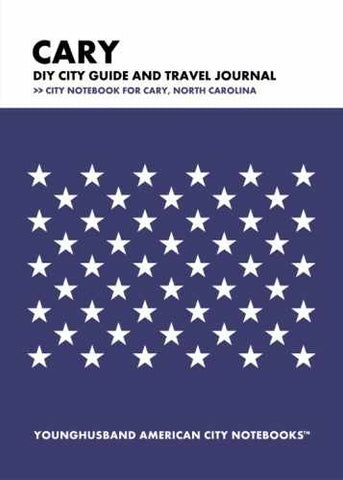 Cary DIY City Guide and Travel Journal by Younghusband American City Notebooks (ProductiveLuddite.com)