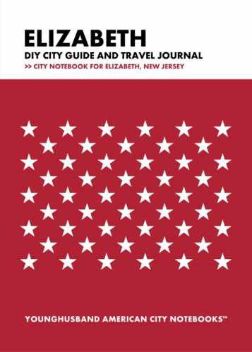 Elizabeth DIY City Guide and Travel Journal by Younghusband American City Notebooks (ProductiveLuddite.com)