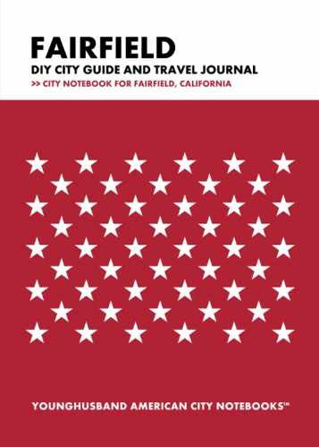 Fairfield DIY City Guide and Travel Journal by Younghusband American City Notebooks (ProductiveLuddite.com)