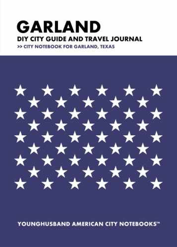 Garland DIY City Guide and Travel Journal by Younghusband American City Notebooks (ProductiveLuddite.com)