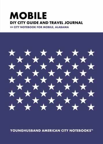 Mobile DIY City Guide and Travel Journal by Younghusband American City Notebooks (ProductiveLuddite.com)