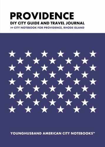 Providence DIY City Guide and Travel Journal by Younghusband American City Notebooks (ProductiveLuddite.com)