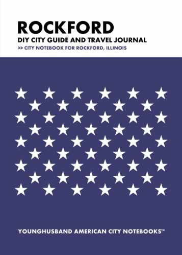 Rockford DIY City Guide and Travel Journal by Younghusband American City Notebooks (ProductiveLuddite.com)