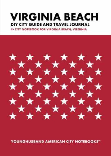 Virginia Beach DIY City Guide and Travel Journal by Younghusband American City Notebooks (ProductiveLuddite.com)
