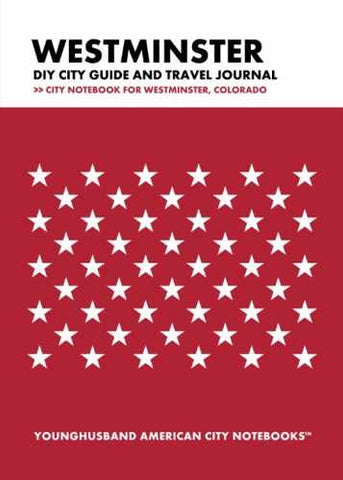 Westminster DIY City Guide and Travel Journal by Younghusband American City Notebooks (ProductiveLuddite.com)