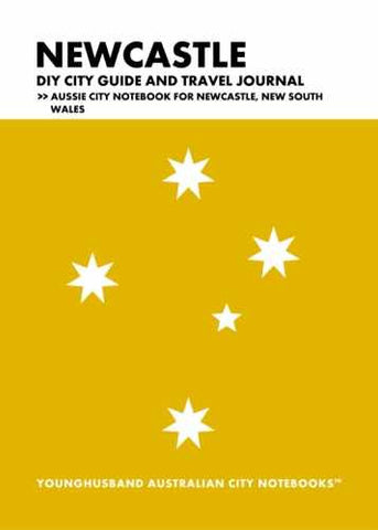 Newcastle DIY City Guide and Travel Journal by Younghusband Australian City Notebooks (ProductiveLuddite.com)