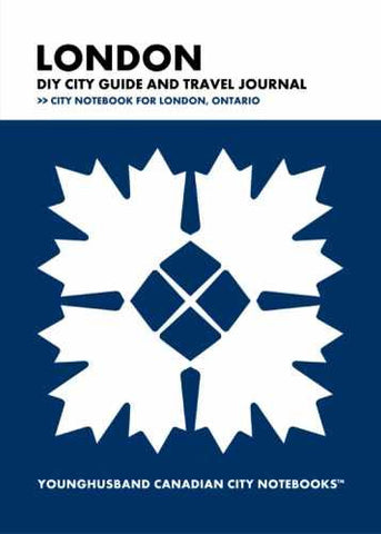 London DIY City Guide and Travel Journal by Younghusband Canadian City Notebooks (ProductiveLuddite.com)