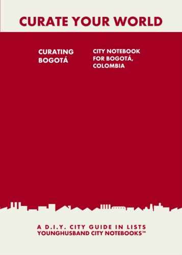 Curating Bilbao: City Notebook For Bilbao, Spain by Younghusband City Notebooks (ProductiveLuddite.com)