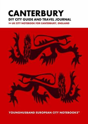 Canterbury DIY City Guide and Travel Journal by Younghusband European City Notebooks (ProductiveLuddite.com)