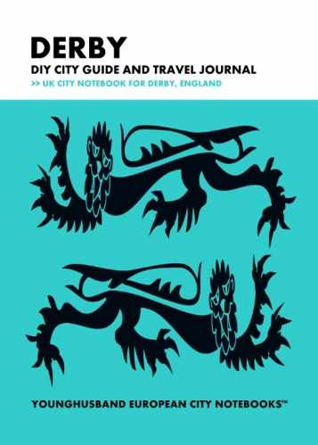 Derby DIY City Guide and Travel Journal by Younghusband European City Notebooks (ProductiveLuddite.com)