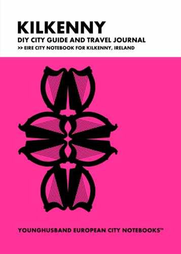 Kilkenny DIY City Guide and Travel Journal by Younghusband European City Notebooks (ProductiveLuddite.com)
