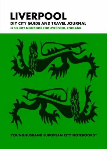 Liverpool DIY City Guide and Travel Journal by Younghusband European City Notebooks (ProductiveLuddite.com)