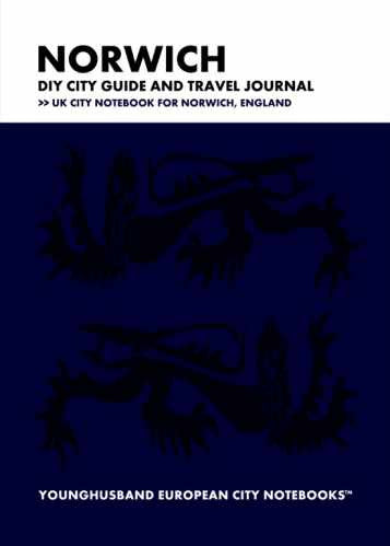 Norwich DIY City Guide and Travel Journal by Younghusband European City Notebooks (ProductiveLuddite.com)