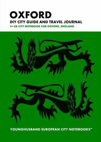 Oxford DIY City Guide and Travel Journal by Younghusband European City Notebooks (ProductiveLuddite.com)