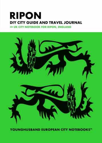 Ripon DIY City Guide and Travel Journal by Younghusband European City Notebooks (ProductiveLuddite.com)