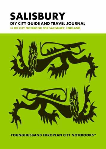 Salisbury DIY City Guide and Travel Journal by Younghusband European City Notebooks (ProductiveLuddite.com)