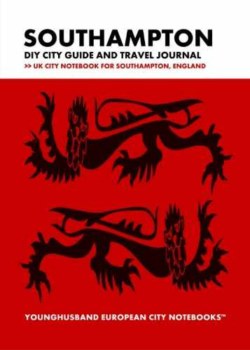 Southampton DIY City Guide and Travel Journal by Younghusband European City Notebooks (ProductiveLuddite.com)