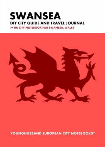 Swansea DIY City Guide and Travel Journal by Younghusband European City Notebooks (ProductiveLuddite.com)