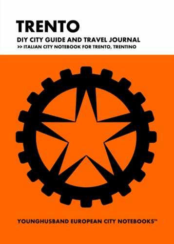 Trento DIY City Guide and Travel Journal by Younghusband European City Notebooks (ProductiveLuddite.com)
