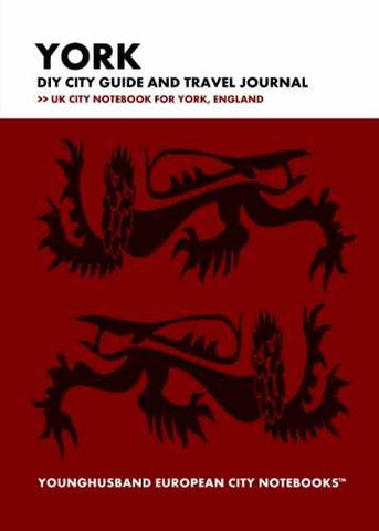 York DIY City Guide and Travel Journal by Younghusband European City Notebooks (ProductiveLuddite.com)