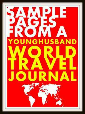 Sample Interior Page for The Turkey Travel Journal