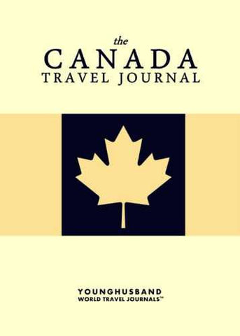 The Canada Travel Journal by Younghusband World Travel Journals (ProductiveLuddite.com)