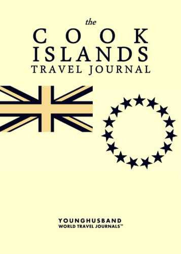 The Cook Islands Travel Journal by Younghusband World Travel Journals (ProductiveLuddite.com)