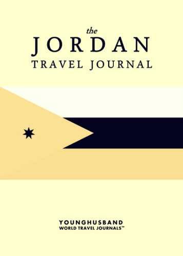 The Jordan Travel Journal by Younghusband World Travel Journals (ProductiveLuddite.com)