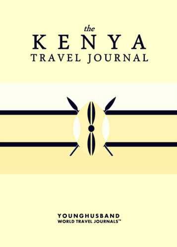 The Kenya Travel Journal by Younghusband World Travel Journals (ProductiveLuddite.com)