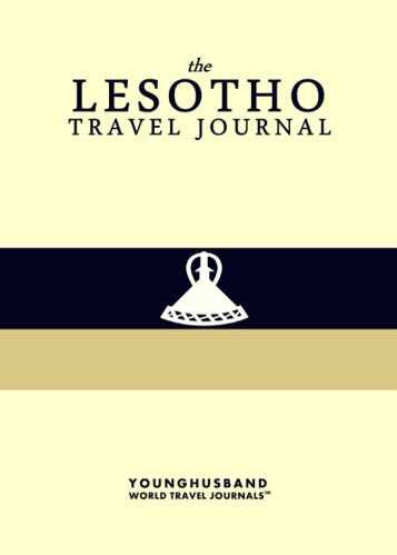 The Lesotho Travel Journal by Younghusband World Travel Journals (ProductiveLuddite.com)