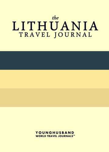 The Lithuania Travel Journal by Younghusband World Travel Journals (ProductiveLuddite.com)