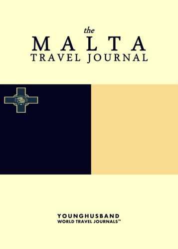 The Malta Travel Journal by Younghusband World Travel Journals (ProductiveLuddite.com)