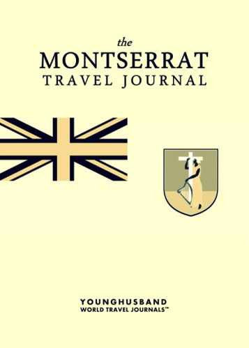 The Montserrat Travel Journal by Younghusband World Travel Journals (ProductiveLuddite.com)