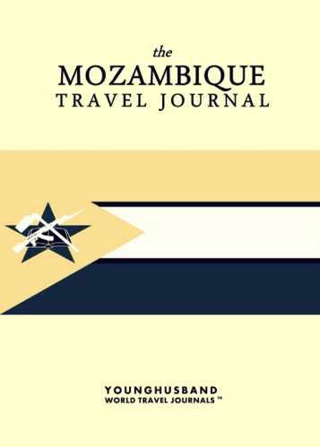 The Mozambique Travel Journal by Younghusband World Travel Journals (ProductiveLuddite.com)