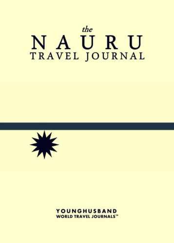 The Nauru Travel Journal by Younghusband World Travel Journals (ProductiveLuddite.com)