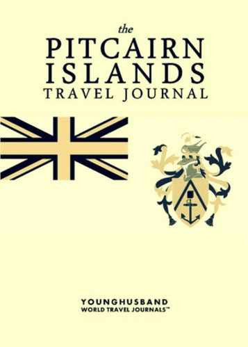 The Pitcairn Islands Travel Journal by Younghusband World Travel Journals (ProductiveLuddite.com)