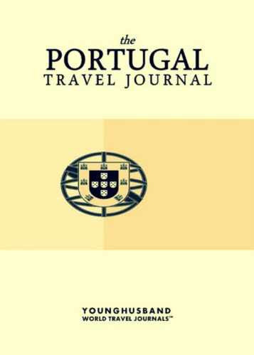 The Portugal Travel Journal by Younghusband World Travel Journals (ProductiveLuddite.com)