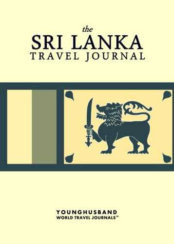 The Sri Lanka Travel Journal by Younghusband World Travel Journals (ProductiveLuddite.com)