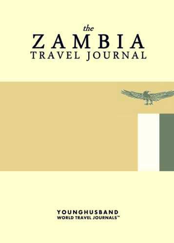 The Zambia Travel Journal by Younghusband World Travel Journals (ProductiveLuddite.com)